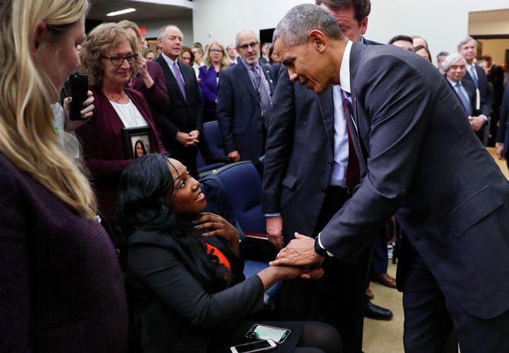 """<em>Photo taken on December 13, 2016 during President Barack Obama</em>'s <em>signing of the </em><a rel=""""nofollow"""" href=""""htt"""