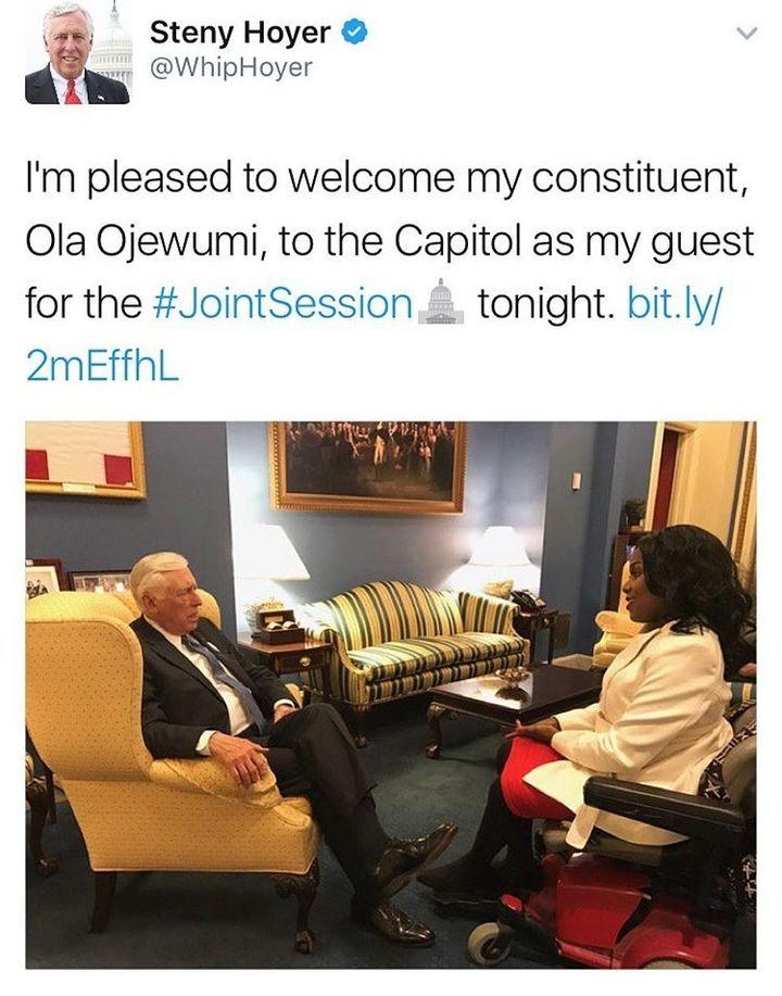 <em>Photo Courtesy of the Office of Democratic Minority Whip Steny Hoyer</em>
