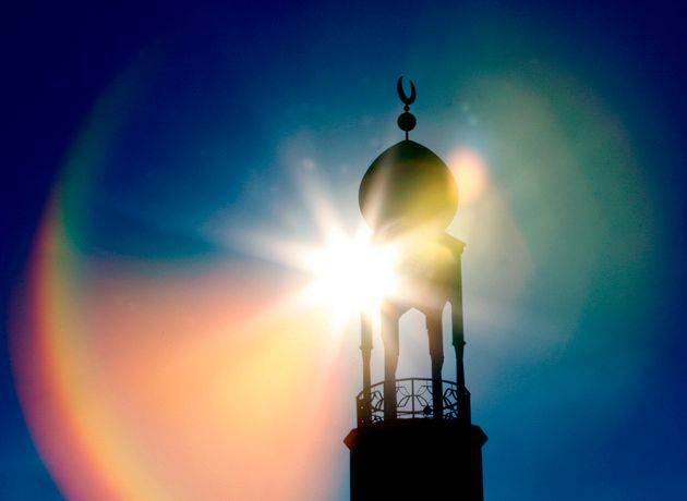The central Mosque is seen during Friday prayers in Birmingham, central England February 2,