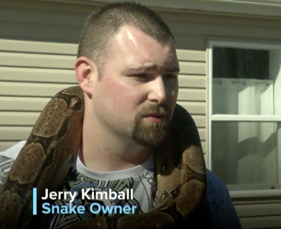 Man 'Dumbfounded' After Learning His Snake Can't Just Chill In