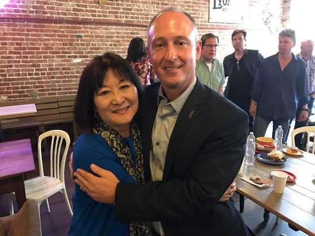 Marsha and Superintendent David Vannasdall 2017
