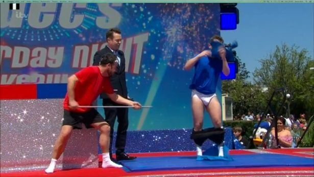 Declan Donnelly Flashes His Pants On Final 'Saturday Night