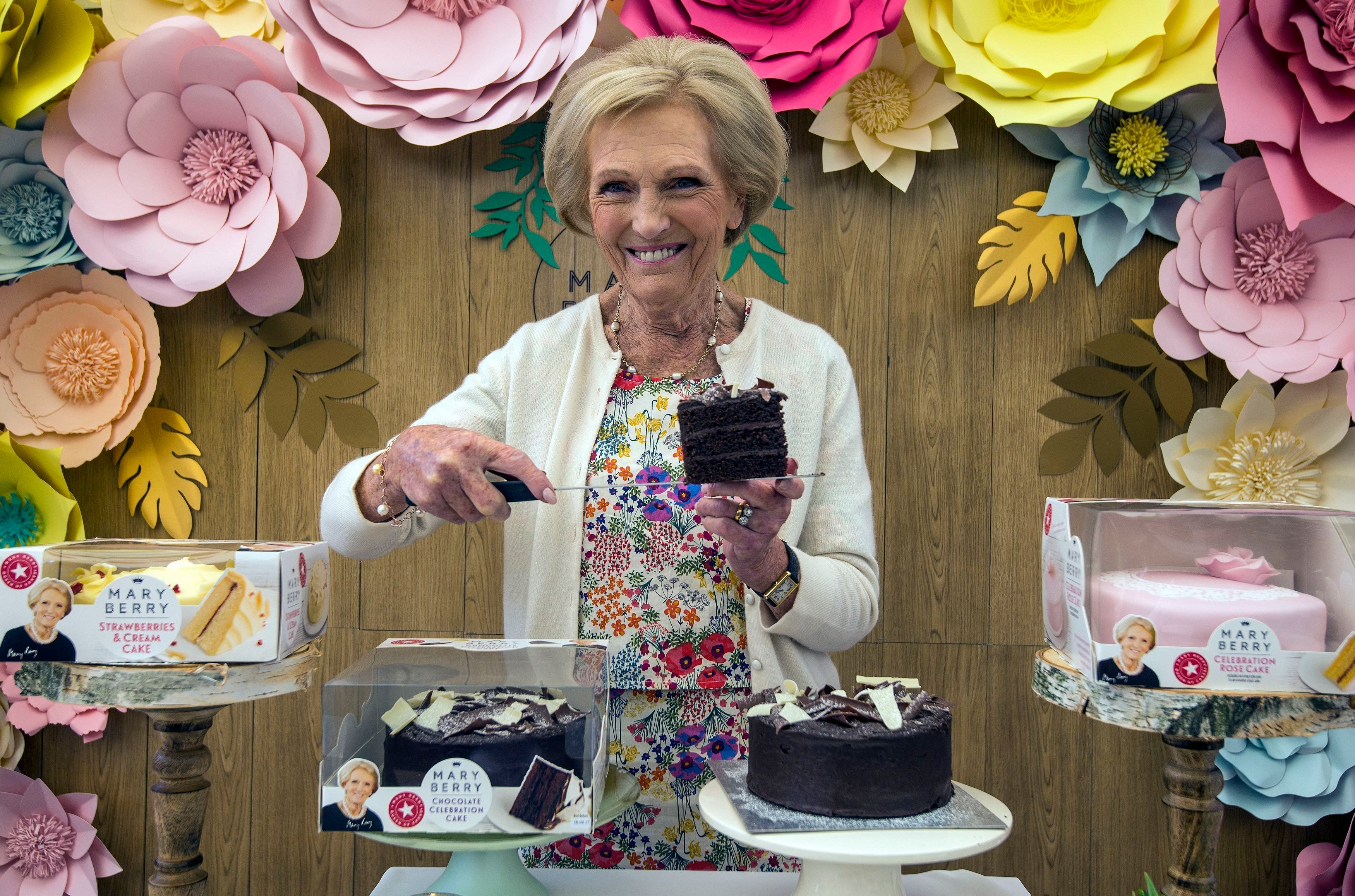 Mary Berry Launches Ready-Made Cakes Range After Years Of Persuading Us To Make Our