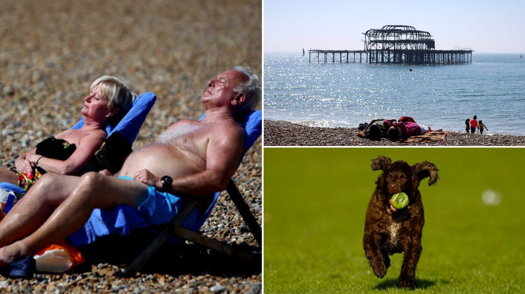 Sunday looks set to become the hottest day of the year so