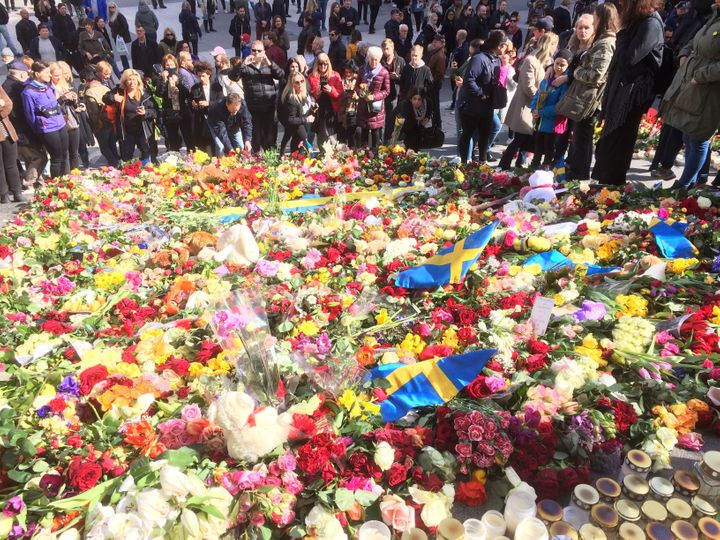 Swedes have responded to the attack with vows of unity and support.
