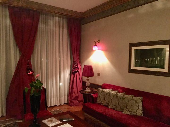 Jacques Garcia's signature decor in the Danieli's 1940s wing