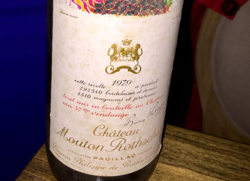 1978 Chateau Mouton Rothschild