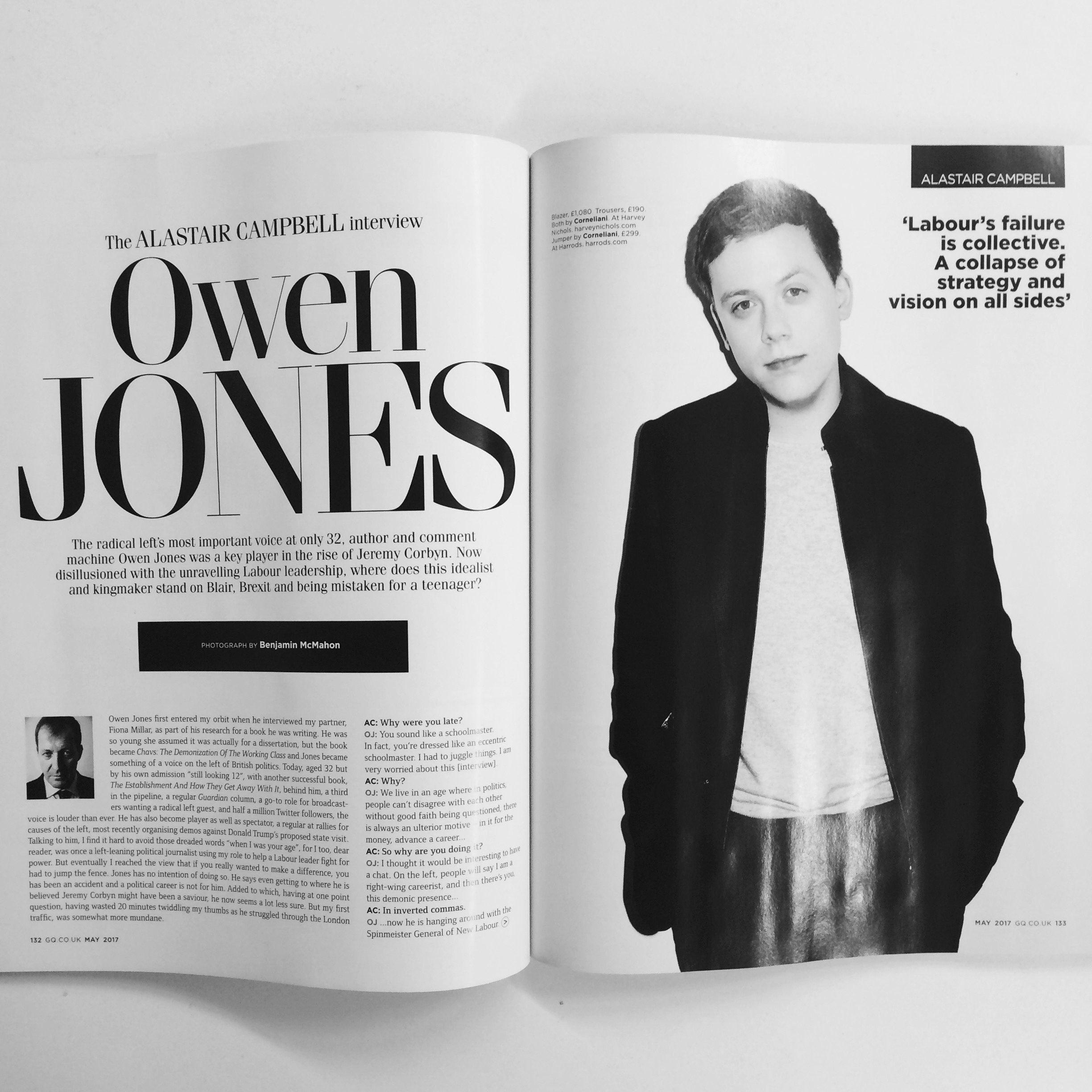 Owen Jones Responds To Criticism Over This *Pricey* GQ