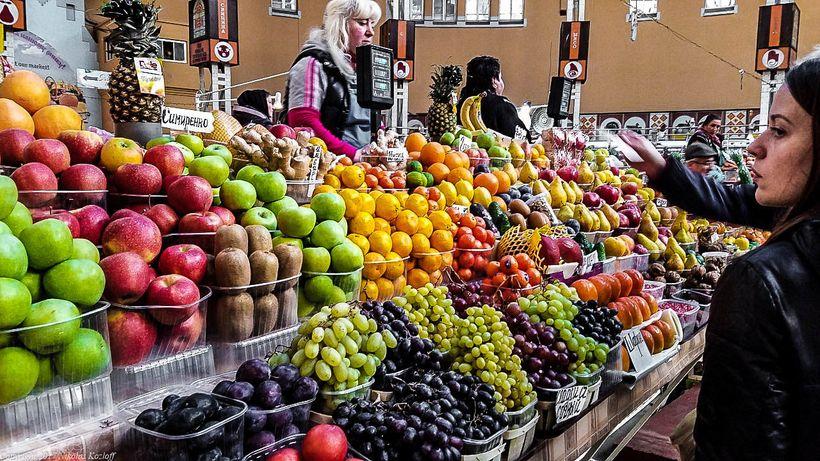 Bessarabsky market in Kyiv