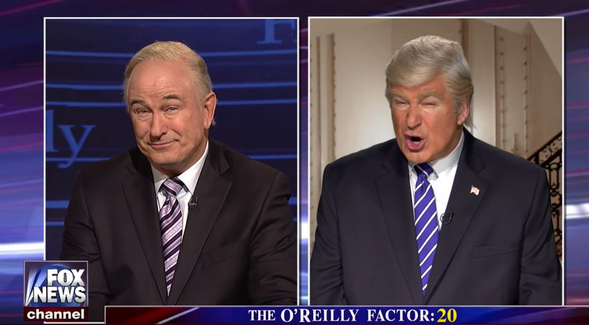 Alec Baldwin Just Proved He Was Spookily Destined For Satire In