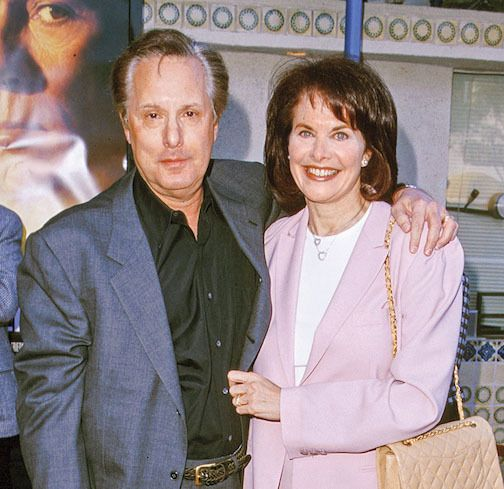 <strong><em>Power Couple — The French Connection director, Billy Friedkin, and former studio head wife Sherry Lansing</em></s