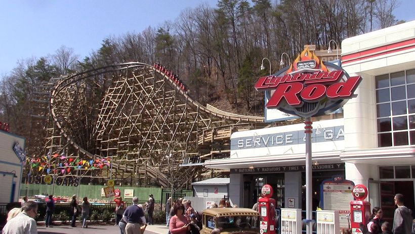 This Is The Worlds First Launched Wooden Roller Coaster And Its