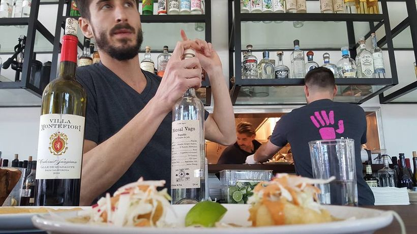 David Axelrod explains the nuance of Mezcal at Pancito & Lefty's