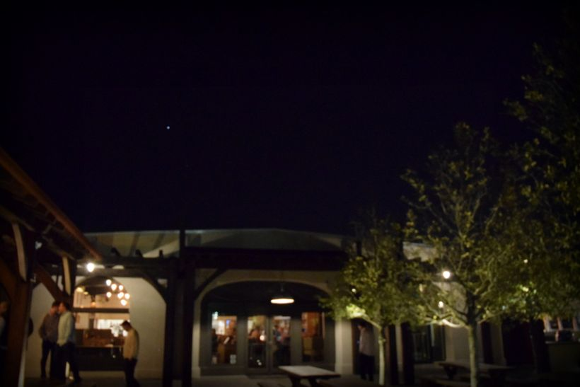 Under the stars at Edmund's Oast