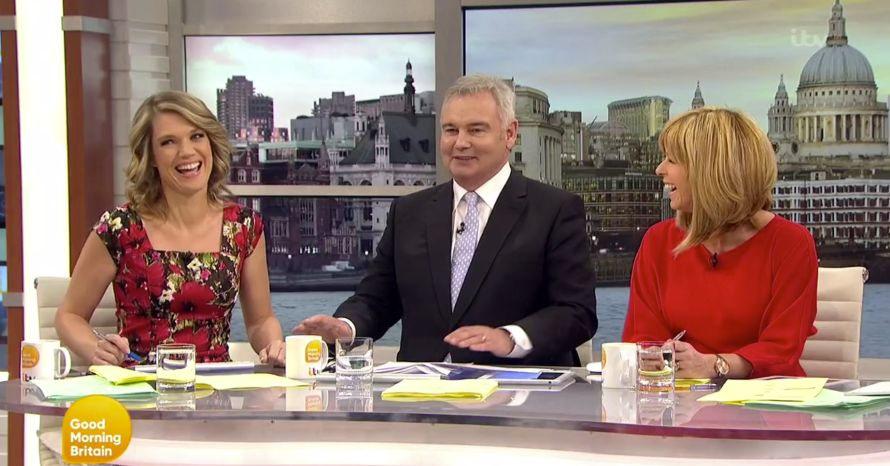 Eamonn Holmes Reunited With Kate Garraway As He Returns To ITV Breakfast