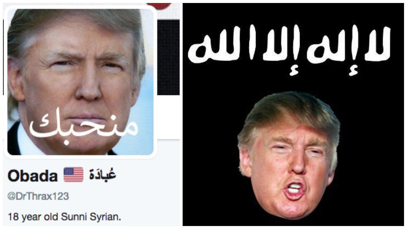 The Real Reason Syrians Are Changing Their Facebook Profile Pictures To Donald