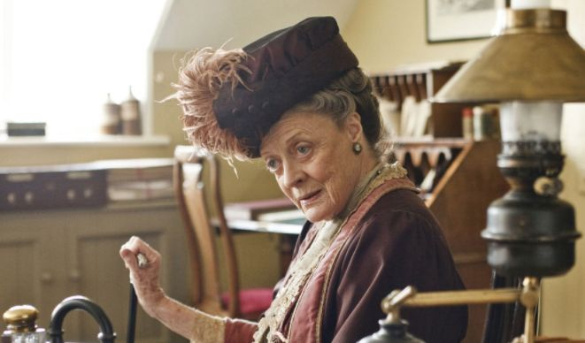'Downton Abbey' Star Maggie Smith Claims Plans For A Movie Are 'Squeezing It