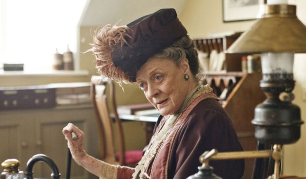 Dame Maggie Smith won both Golden Globe and Emmy Awards for her role as the Countess