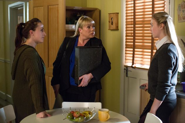 Sharon Mitchell will discover Louise's involvement in what has happened to