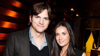 MOSCOW - OCTOBER 31: Ashton Kutcher and Demi Moore attend the private dinner after their Charity Gala at The Ritz-Carlton on October 31, 2010 in Moscow, Russia. (Photo by Victor Boyko/GC/Getty Images)