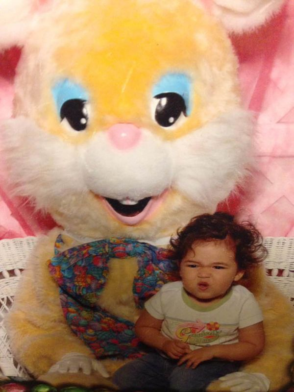 I think the Easter bunny farted.