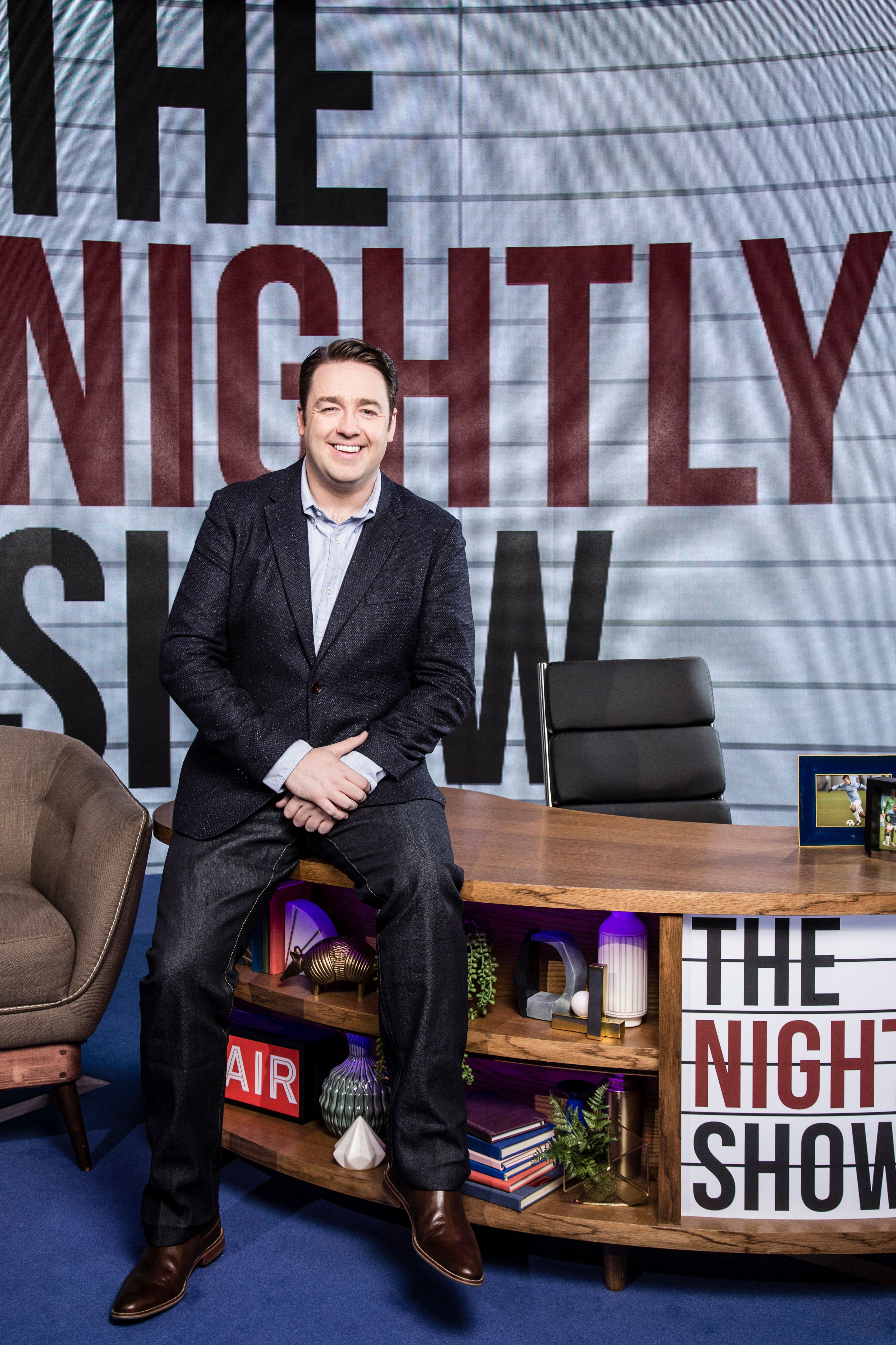 Jason Manford Isn't Letting The Nightly Show's Bad Reviews Put Him