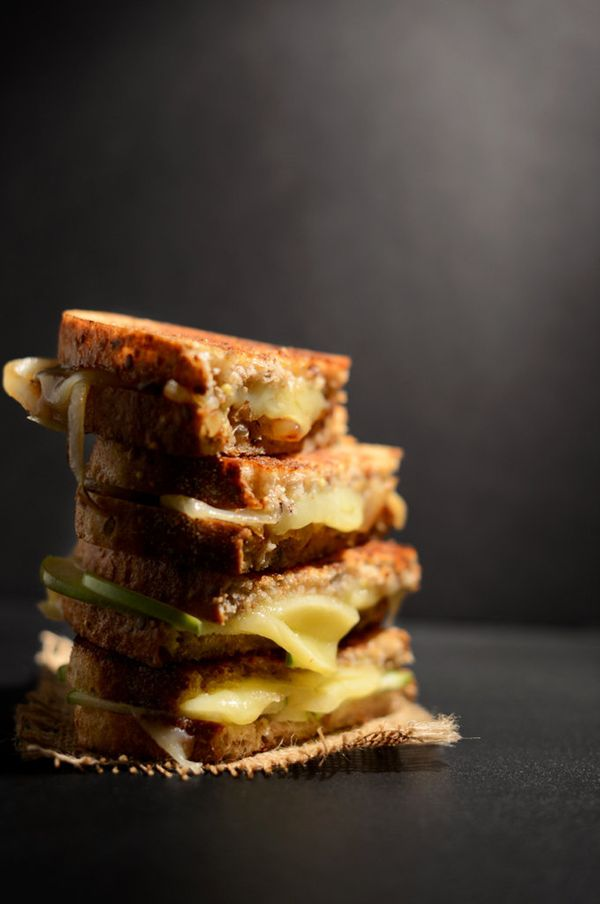 "<strong>Get the <a href=""http://minimalistbaker.com/sweet-and-savory-grilled-cheese/"" target=""_blank"">Sweet and Sour Grilled"