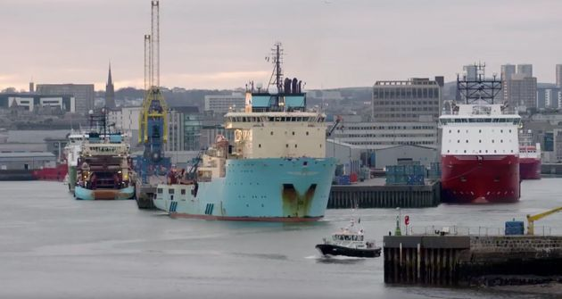 Port of Aberdeen as featured in the latest Conservative Party party political