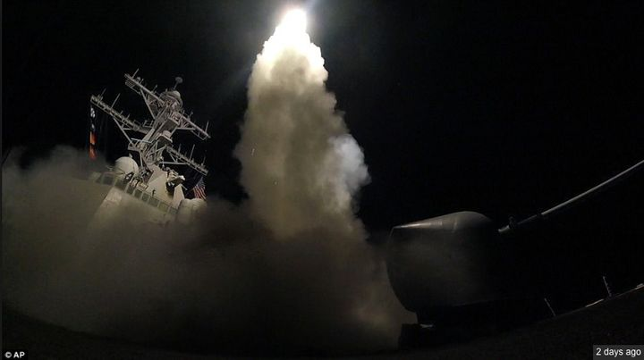 Chemical Gas, Tomahawk Missiles And A 180-Turn In Trump's