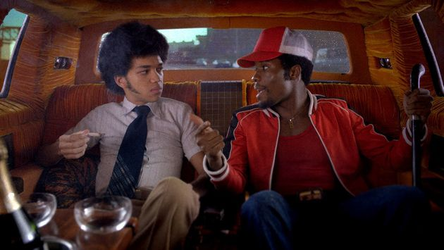 Justice Smith and Shamiek Moore in