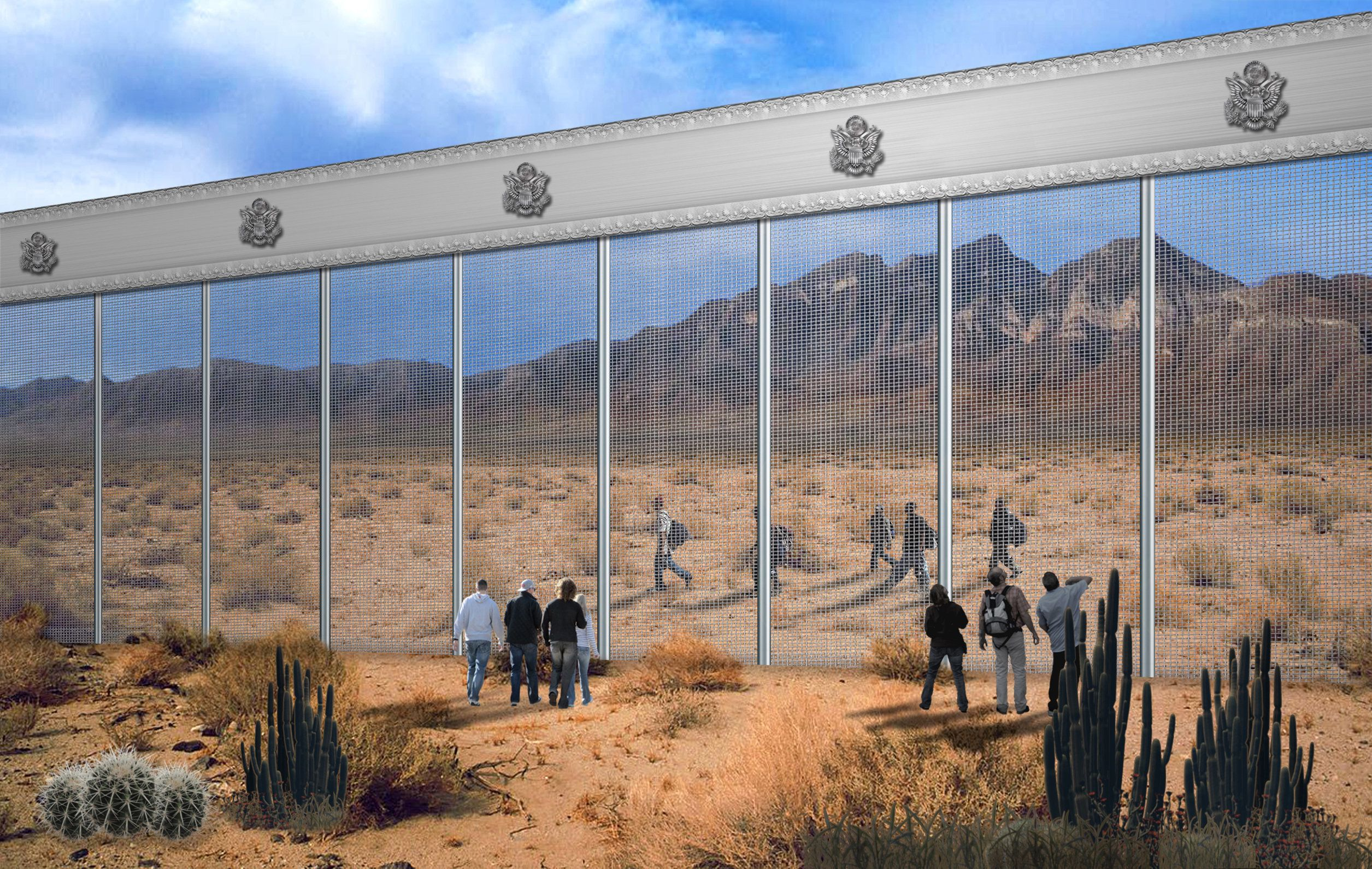 the unlikely design proposal for trump s border wall from a latino rh huffpost com