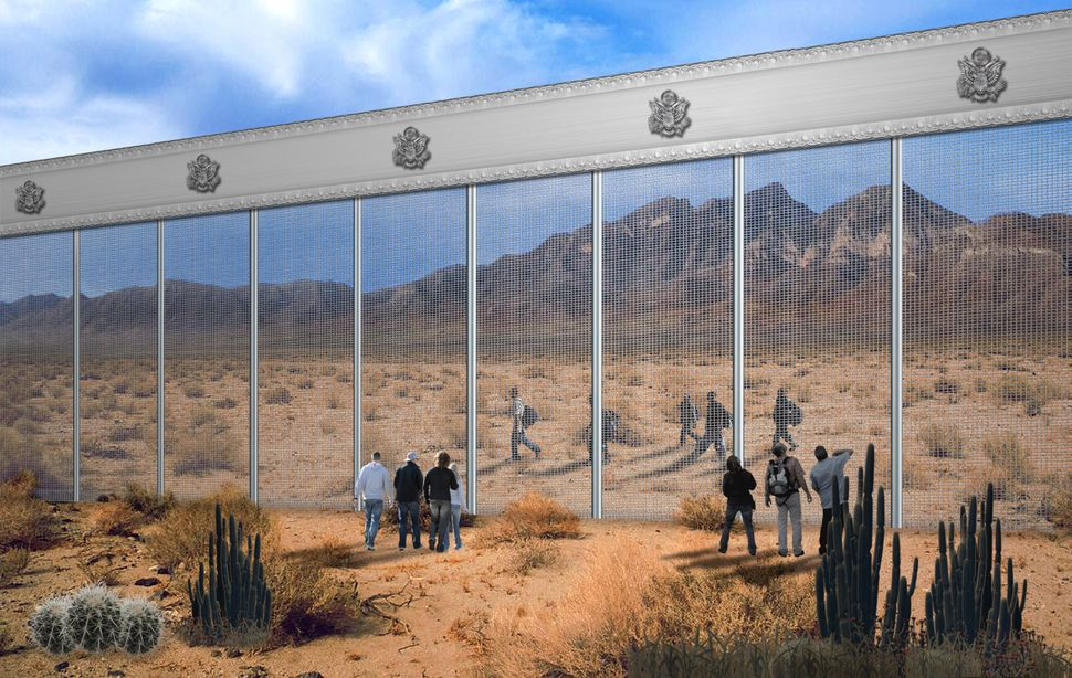 The Unlikely Design Proposal For Trump's Border Wall From A Latino ...