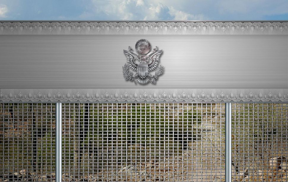 "PennaGroup's design proposal for what they've dubbed the ""Other Border Wall."""