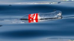 Coke Hopes No One Notices All The Plastic Bottles Floating In The