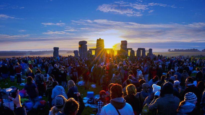 Summer Solstice Sunrise at Stonehenge