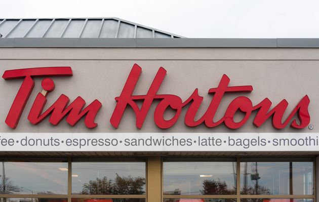 A branch of Tim Hortons in Ontario,