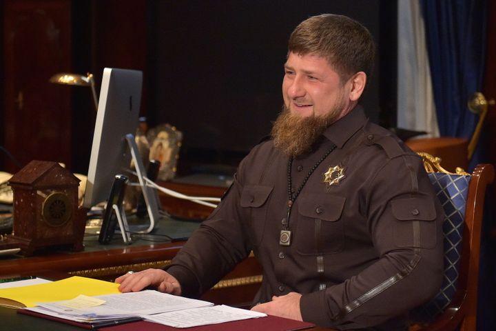 Chechnya Head Ramzan Kadyrov.