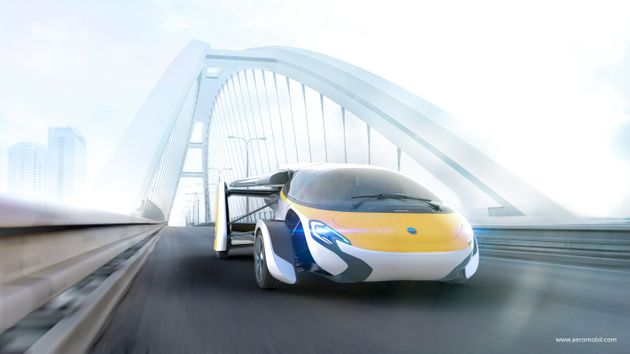The first glimpse of AeroMobil's latest
