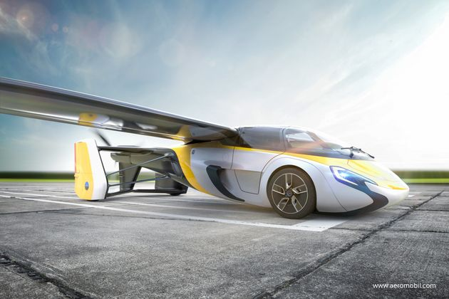 AeroMobil Offers The First Glimpse Of A Flying Car You Could Soon