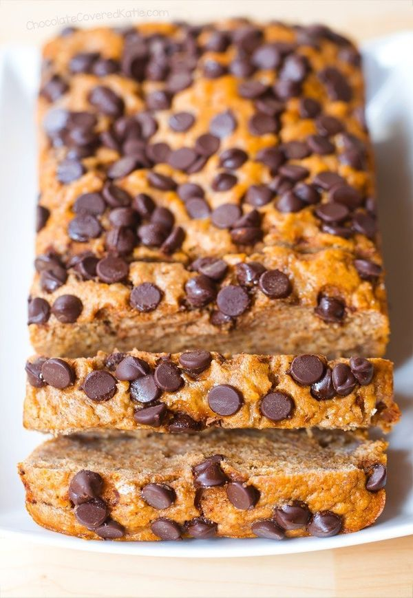 """<strong>Get the <a href=""""http://chocolatecoveredkatie.com/2017/01/16/healthy-banana-bread/"""" target=""""_blank"""">Healthy Banana Br"""