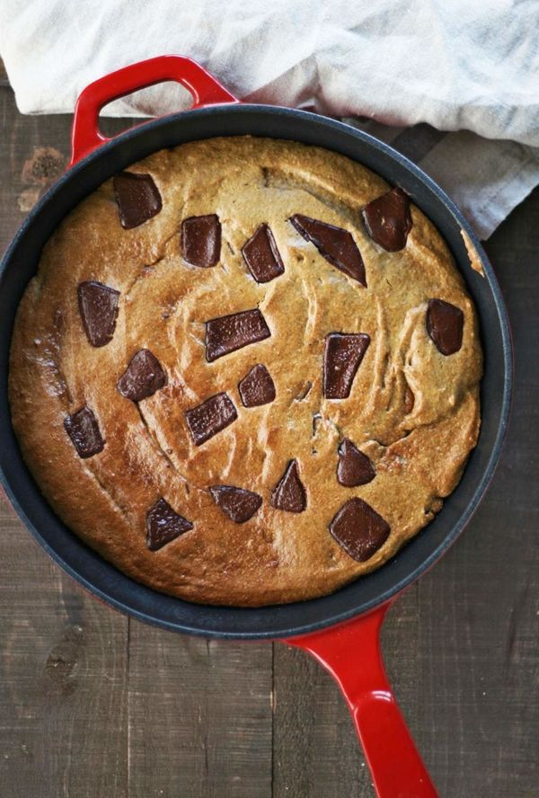 """<strong>Get the <a href=""""http://vegukate.com/post.php?s=2017-03-30-salted-caramel-skillet-cookie"""" target=""""_blank"""">Salted Cara"""