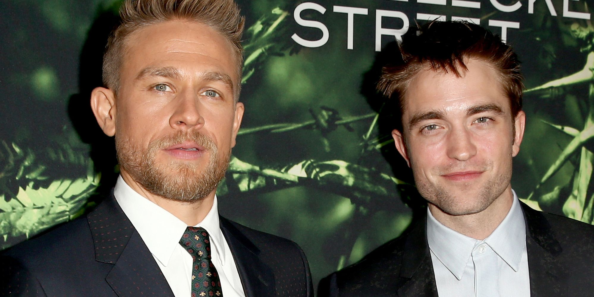 Robert Pattinson And Charlie Hunnam Each Dropped 35 Pounds For New Movie