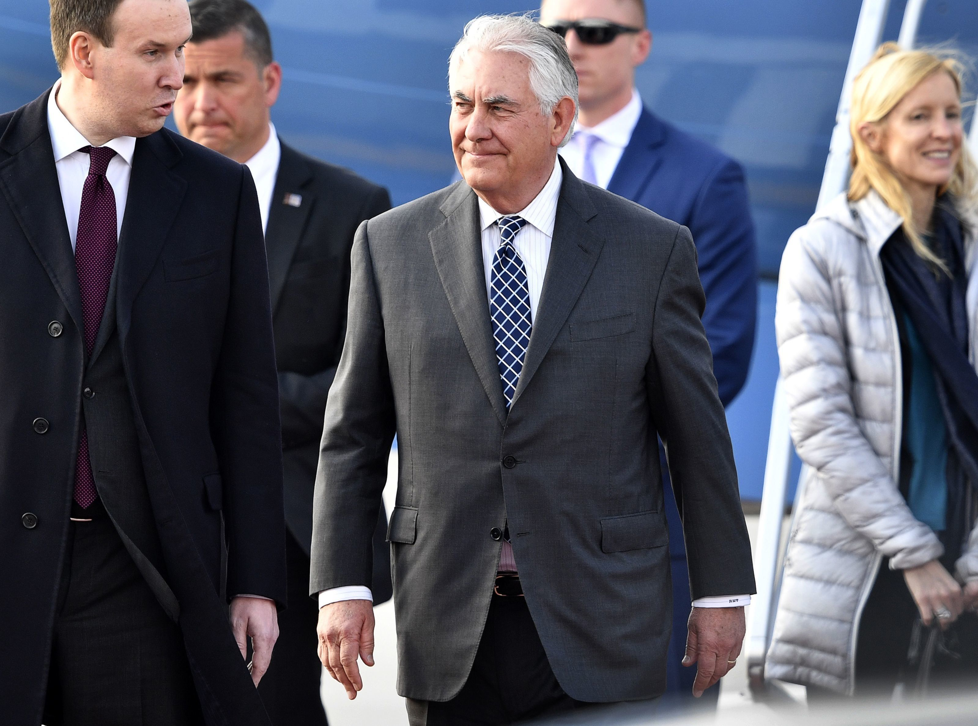 U.S. Secretary of State Rex Tillerson and Russian President Vladimir Putin worked together while Tillerson was CEO of Exxon M