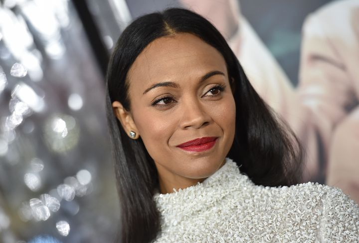 "Zoe Saldana has starred in three sci-fi franchises: ""Guardians of the Galaxy,"" ""Star Trek"" and ""Avatar."""