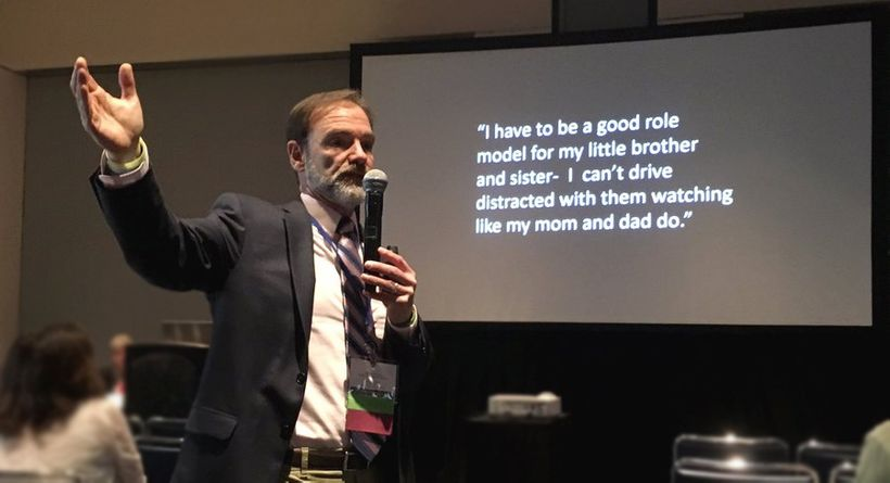 Distracted Driving Speaker Joel Feldman