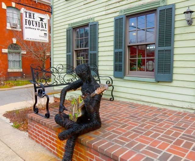 <p>The Foundry Gallery and Gifts, Denton MD</p>