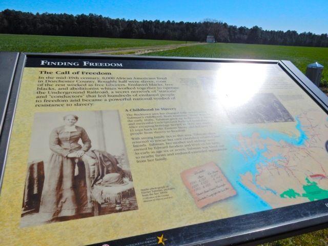 <p>Harriet Tubman Underground Railroad Byway, MD</p>
