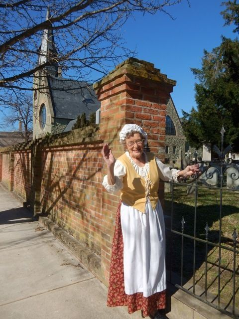 <p>Marge Hull, Tourguide, Historic High Street, Cambridge MD</p>
