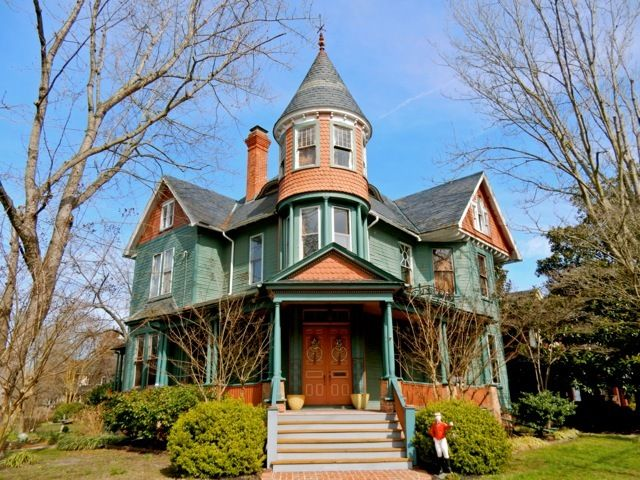 Queen Anne home, Newtown Historic District, Salisbury MD
