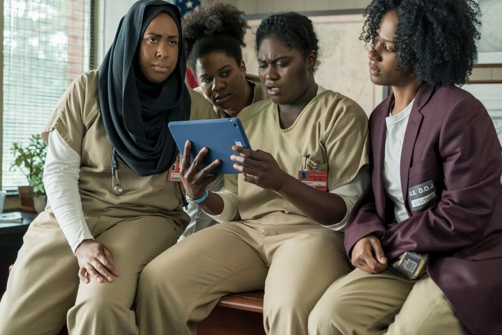 Poussey's friends are still reeling from her shockingdeath as Season 5 picks up right where Season 4 left off.